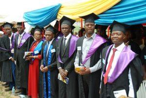 tudents graduation at ECUREI mengo kampala uganda