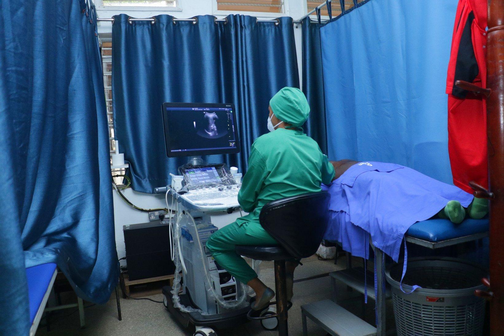 ecurei ultrasound room