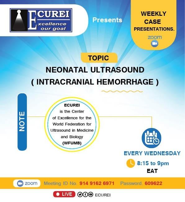 ECUREI weekly CASE presentations